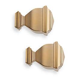 Cambria® Premier Complete Napoleon Finial in Warm Gold (Set of 2)