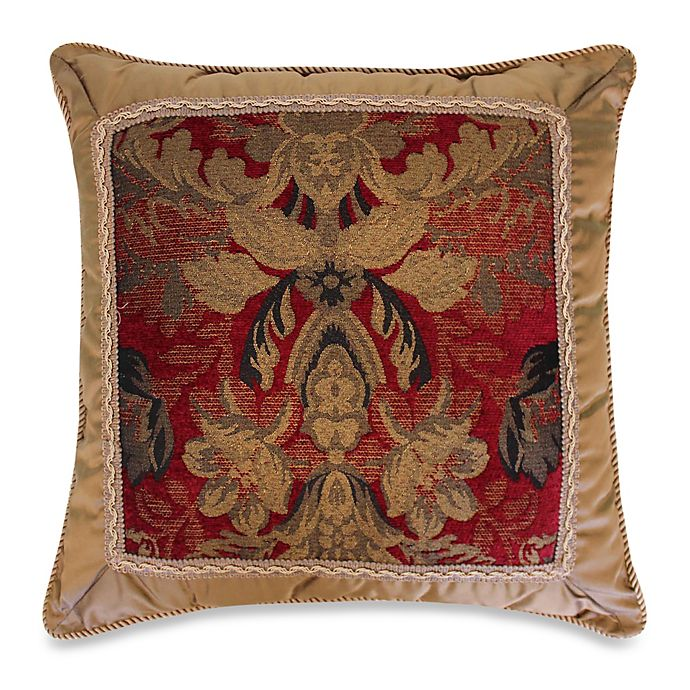 Alternate image 1 for Austin Horn Classics Verona Fancy 20-Inch Square Throw Pillow