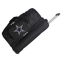 NFL Dallas Cowboys 27-Inch Drop Bottom Wheeled Duffel Bag