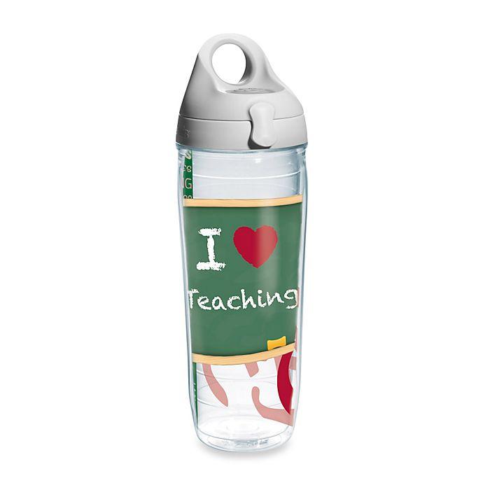 Alternate image 1 for Tervis® Teacher 24-Ounce Wrap Design Water Bottle