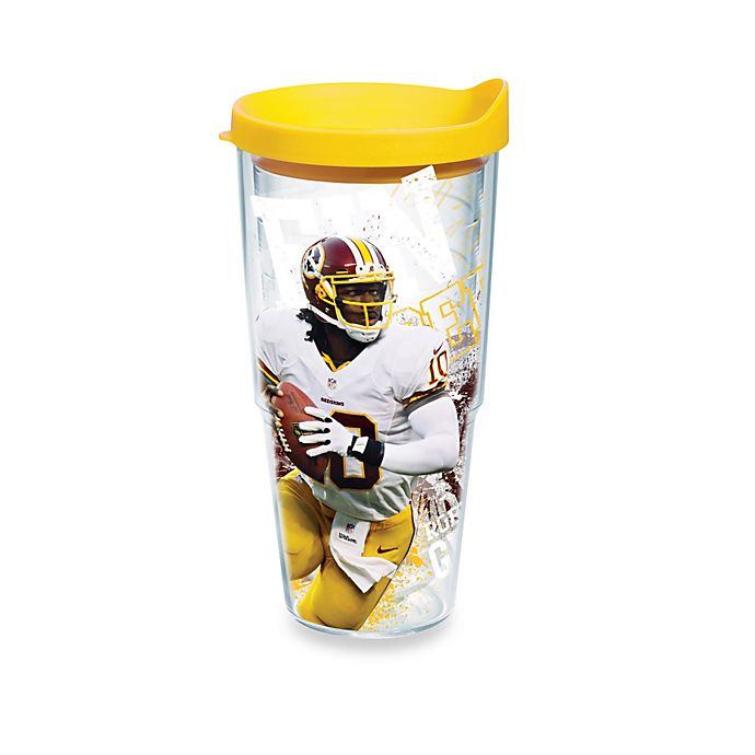 Alternate image 1 for Tervis® NFL Robert Griffin III 24-Ounce Wrap Tumbler with Lid