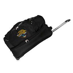 NHL Jacksonville Jaguars 27-Inch Drop Bottom Rolling Duffel Bag
