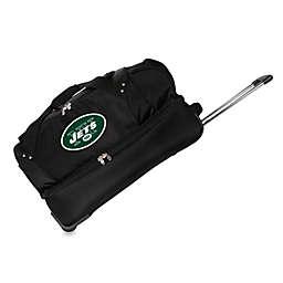 NFL New York Jets 27-Inch Drop Bottom Rolling Duffle Bag