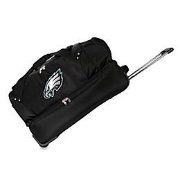 NFL Philadelphia Eagles 27-Inch Drop Bottom Wheeled Duffel Bag