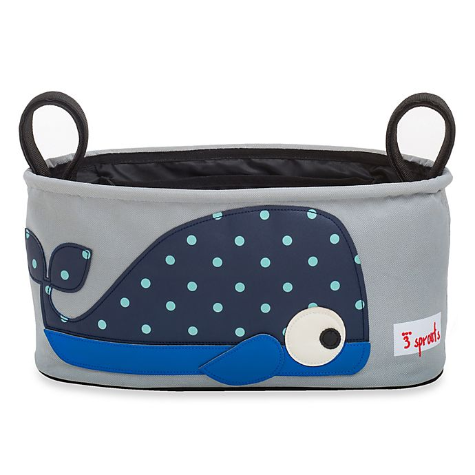 Alternate image 1 for 3 Sprouts Stroller Organizer in Whale