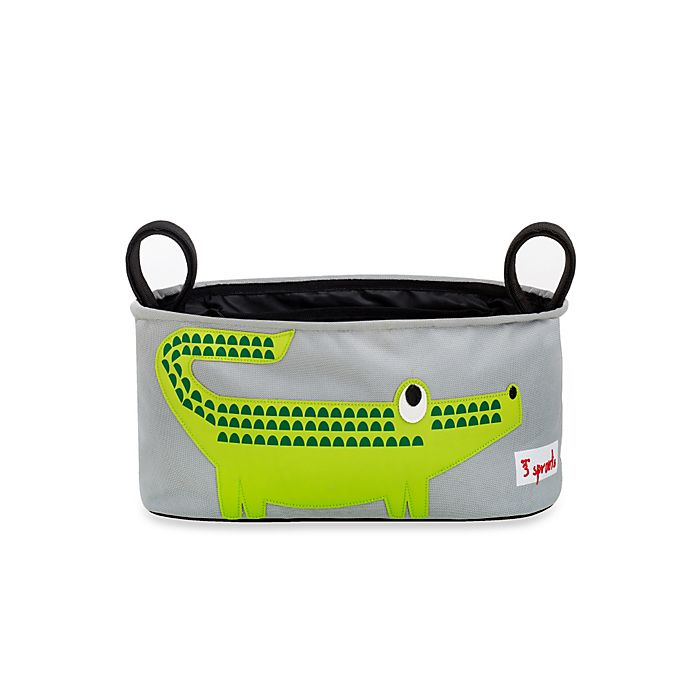 Alternate image 1 for 3 Sprouts Stroller Organizer in Crocodile