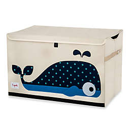 3 Sprouts Toy Chest in Whale
