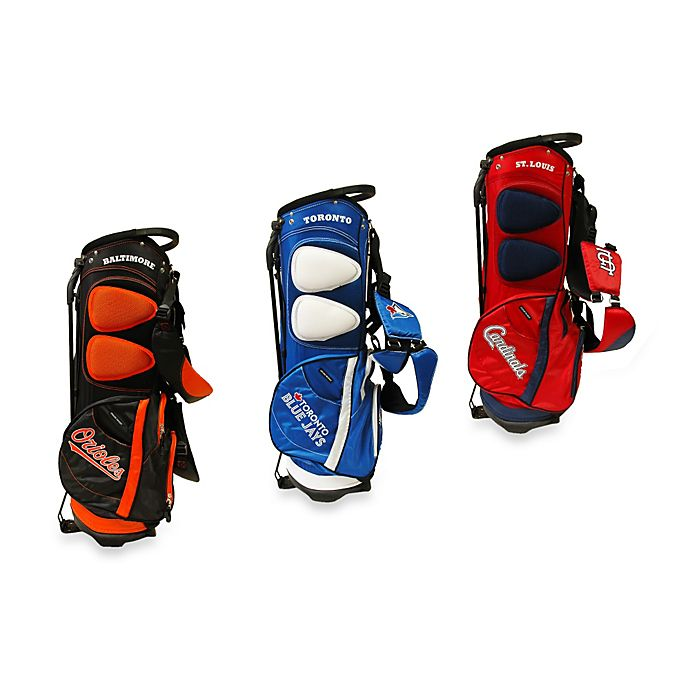 Alternate image 1 for Major League Baseball Fairway Stand Golf Bag