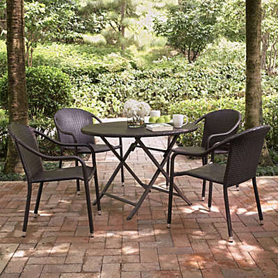 Crosley Palm Harbor 5-Piece Outdoor Cafe Dining Set