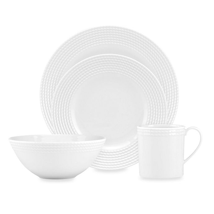 Alternate image 1 for kate spade new york Wickford™ 4-Piece Place Setting