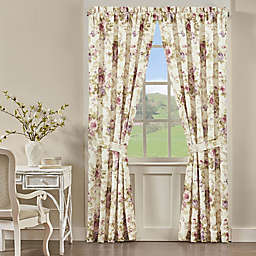 J. Queen New York™ Chambord 2-Pack 84-Inch Rod Pocket Window Curtain in Lavender