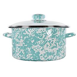 Golden Rabbit® Sea Glass Stock Pot with Lid