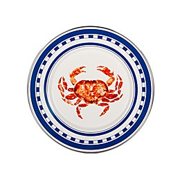 Golden Rabbit® Crab House Accent Plates in Red (Set of 4)