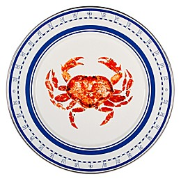 Golden Rabbit® Crab House Charger Plates in Red (Set of 2)