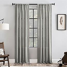 Clean Window® Basketweave Anti-Dust Window Curtain Panel