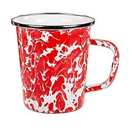 Golden Rabbit® Red Swirl Latte Mugs (Set of 4)