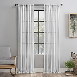 Clean Window® Vintage Stripe Anti-Dust Curtain Panel