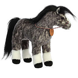 Aurora World® Breyer Andalusian Horse Plush Toy in Black/White