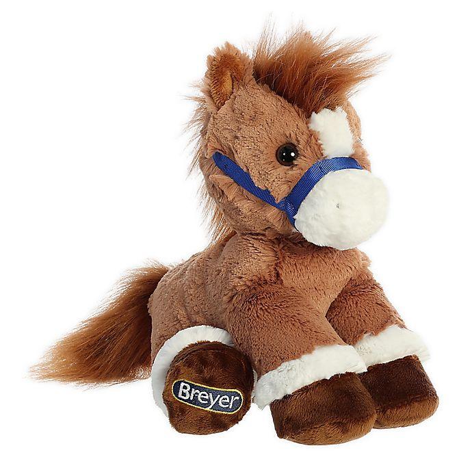 Alternate image 1 for Aurora World® Breyer Bridle Buddies Chestnut Horse Plush Toy in Brown