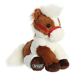 Aurora World® Breyer Bridle Buddies Pinto Horse Plush Toy in Brown/White