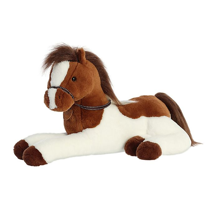 Alternate image 1 for Aurora World® Paint Horse Plush Toy in Brown/White