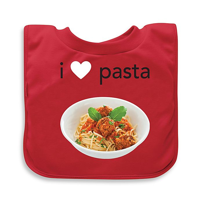 Alternate image 1 for green sprouts® Pasta Favorite Food Absorbent Bib