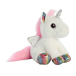 Aurora World® Astra Unicorn Plush Toy in White/Multi