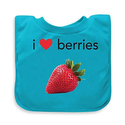 green sprouts® Aqua Berries Favorite Food Absorbent Bib