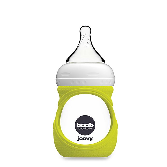 Alternate image 1 for Joovy® Boob 5-Ounce Glass Bottle and Silicone Sleeve in Green