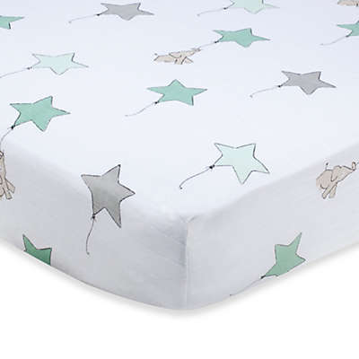 aden + anais® 100% Cotton Muslin Crib Sheet in Up, Up & Away