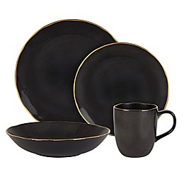 Olivia & Oliver™ Harper Slate Gold Dinnerware Collection