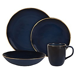 Olivia & Oliver™ Harper Blue Gold Dinnerware Collection