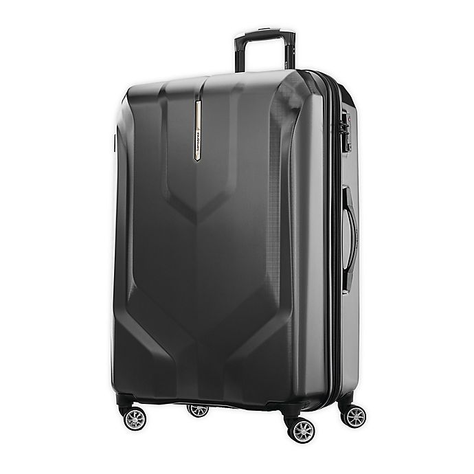 Alternate image 1 for Samsonite® Opto PC 2 29-Inch Hardside Spinner Checked Luggage in Black