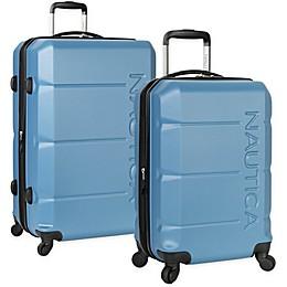 Nautica® Marine Hardside Spinner Checked Luggage