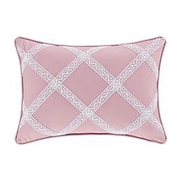 J. Queen New York™ Rosemary Boudoir Throw Pillow in Rose