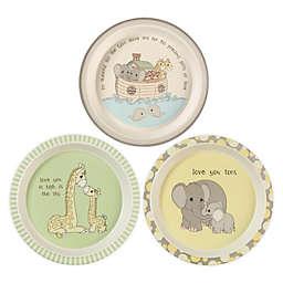 Precious Moments® Noah's Ark Animals 3-Pack Plates Set