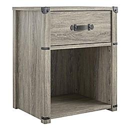 Little Seeds™ Nova 1-Drawer Storage Nightstand in Grey Oak
