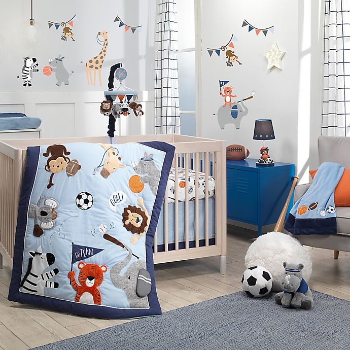 Alternate image 1 for Lambs & Ivy® Sports Fan Nursery Bedding Collection