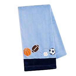 Lambs & Ivy® Sports Fan Baby Blanket in Blue