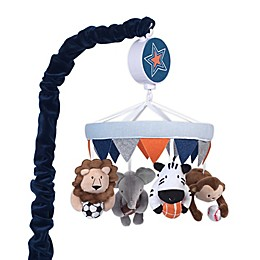 Lambs & Ivy® Sports Fan Musical Mobile in Blue