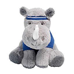 Lambs & Ivy® Sports Fan Leroy the Rhino Plush Toy in Grey
