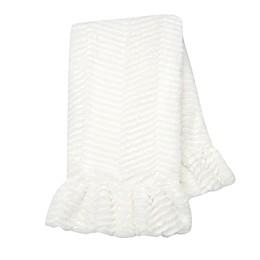 Lambs & Ivy® Signature Separates Plush Chevron Blanket