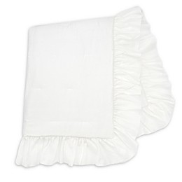 Lambs & Ivy® Signature Separates Ruffle Quilt in White