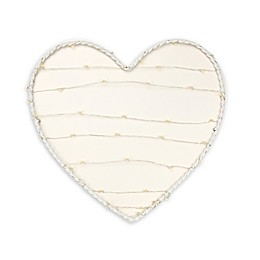 Lambs & Ivy Signature Separates Heart LED Wall Decor in Champagne