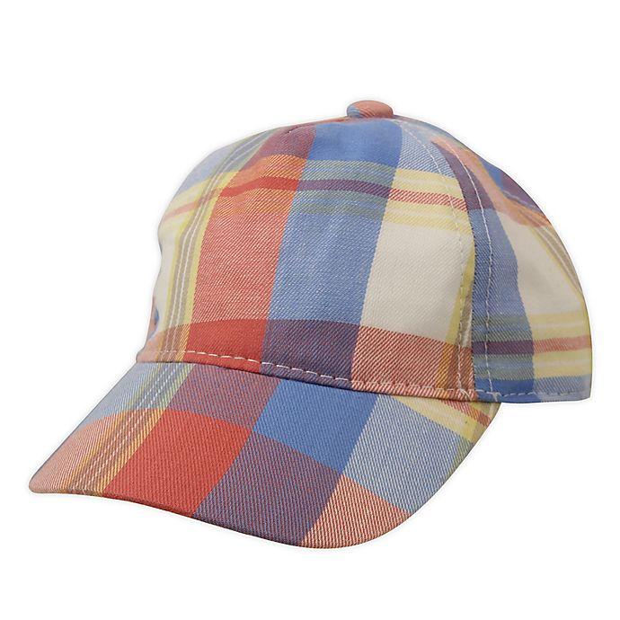 Alternate image 1 for Tiny Treasures Newborn Plaid Hat