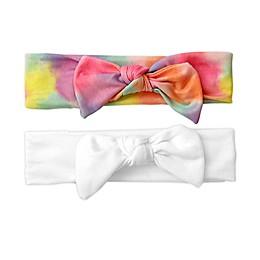 Tiny Treasures 2-Pack Tie Dye Headbands