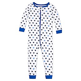 Lamaze® Triangle Organic Cotton Toddler Sleep 'N Play Coverall in Blue