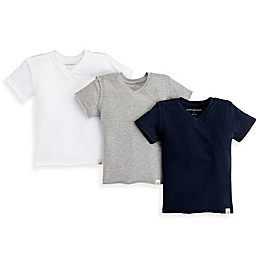 Burt's Bees Baby® 3-Pack Organic Cotton V-Neck Shirts