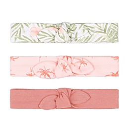 The Peanutshell™ 3-Pack Tropical Headbands in Ivory
