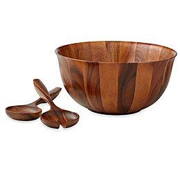 B. Smith® 3-Piece Wood Salad Server Set